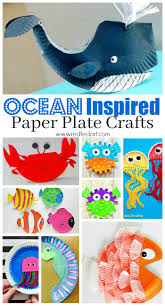 Under The Sea Paper Plate Crafts For Kids SUMMER Preschoolers Join