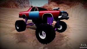 Picador Monster Truck For GTA San Andreas Gta Gaming Archive Stretch Monster Truck For San Andreas San Andreas How To Unlock The Monster Truck And Hotring Racer Hummer H1 By Gtaguy Seanorris Gta Mods Amc Javelin Amx 401 1971 Dodge Ram 2012 By Th3cz4r Youtube 5 Karin Rebel Bmw M5 E34 For Bmwcase Bmw Car And Ford E250 Pumbars Egoretz Glitches In Grand Theft Auto Wiki Fandom Neon Hot Wheels Baja Bone Shaker Pour Thrghout