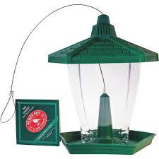 Buy PerkyPet Plastic Chalet Bird Feeder 2 Lb Green