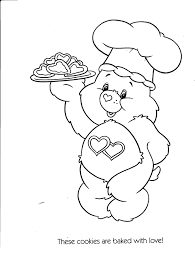Care Bears Printable Coloring Book Pages For Kids