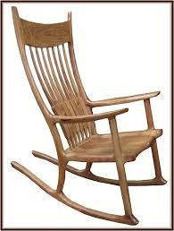Sam Maloof Rocking Chair Plans by Sam Maloof Rocking Chair Plan Wood Plan