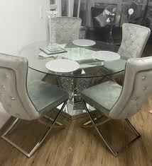kare design esszimmer tisch stühle