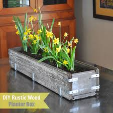 It Is A Lovely Distressed Planter Box That Made Out Of Some Old Wood We Had Was Just Waiting To Be Used This On