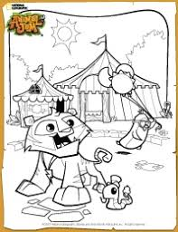Animal Jam Carnival Coloring Page OMG THE PENGUIN The Reason Why I Love AJ