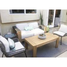 Montpelier Wood Patio Loveseat With Sunbrella Fabric - White - Smith ... Vintage Smith And Hawken Teak Outdoor Patio Set Chairish Exterior Interesting And Fniture For Inspiring 36 Wood Folding Chairs Mksoutletus Cheap Ding Find Deals On Line At Garden Emily Henderson Chair Sets Best Rated In Adirondack Helpful Customer Reviews Amazoncom Large Lounge Pair Sale 1stdibs