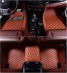 100 Custom Floor Mats For Trucks Okutech Fit XPE Leather 3D Full Surrounded Waterproof Car