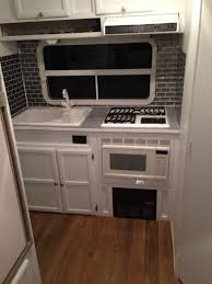 Remodeled Camper Kitchen