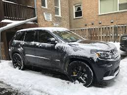 2018 Jeep Grand Cherokee Trackhawk Is A Snow Warrior, Too