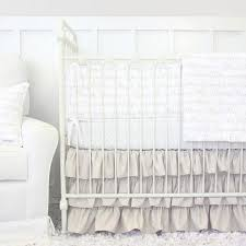 Love Letters Taupe And White Baby Bedding With Our Favorite Nursery Sayings
