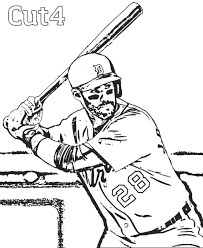 Detroit Tigers Coloring Pages 27 Days Until Spring Training Add Some Zen To Your Life With