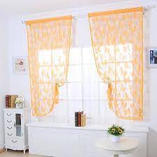 schmetterling drucken sheer fenster panel vorhänge raumteiler neue für wohnzimmer schlafzimmer küche zimmer