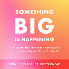 Our Biggest Sale Of The Year Is Almost Here: Here's How To ... Coupons Promo Codes Deals 2019 Singpromocode Shoshanna Promo Code Coupon Code July At Dealscove Lulus Coupon Codes 2018 How To Get Multiple Inserts Home Depot Truck Rental Nbaa Bace Discount Cars Budget Sleep Inn Our Biggest Sale Of The Year Is Almost Here Heres Att Wireless Plan Apple Business Tiers Que Es Voucher Best Buy Appliances Clearance 50 Off Zaful Top September Discounts Century 21 Opa Coupons Luluscom Sandals Key West Resorts
