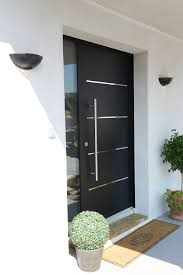 porte d entrée aluminium cotim 11 par zilten deco lores