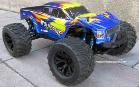 100 Brushless Rc Truck Wolverine Pro RC Electric 110 4WD LIPO 24G 70191