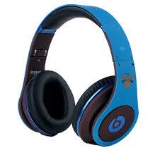 Unique Designed Beats By Dre Studio NBA Jeremy Lin Blue Headphones