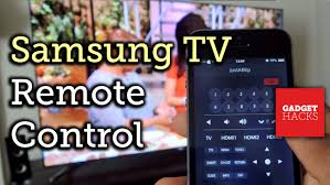 Control Your Samsung Smart TV with an iPhone [How To]