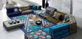 mah jong canapé mah jong sofa roche bobois