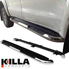 Toyota Hilux Dual Cab Stainless Steel Side Step Rails Running Board ... Buy Iboard Black Powder Coated Running Board Style Boards Nerf Bars Step For Pickup Trucks Sharptruckcom Side Steps Archives Topperking Star Armor Kit Fit 072018 Chevy Silveradogmc Sierra 1500 2007 Lund Multifit Steprails Fast Shipping Westin And Truck Specialties 8 Best And Suv Reviews 2019 Toyota Hilux Dual Cab Stainless Steel Rails Sideboardsstake Sides Ford Super Duty 4 With Will Gen 2 Railsbars Fit 3 Tacoma World Intertional Products Nerf Bars Ru