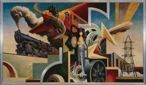 Most Famous Mural Artists by The Story Behind Thomas Hart Benton U0027s Incredible Masterwork Arts