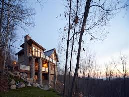 foret blanche chalet 5br ski in out mont tremblant cottage