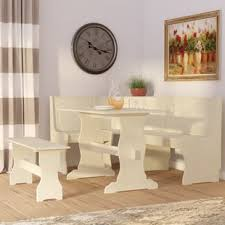 Dining Table With Bench Kitchen Room Sets Youll Love