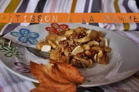 comment cuisiner un patisson blanc pâtisson pomme et noix l automne est là un courant de vert