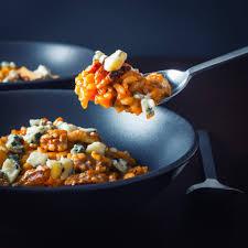 Pumpkin Gnocchi Recipe Uk by Pureed Pumpkin Risotto With Walnuts Krumpli