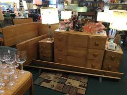 new selection of mcm heywood wakefield furniture is being featured