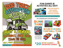 Food Truck Festival – Saturday, June 16 – Assumption Regional ... Tampa Area Food Trucks For Sale Bay Lot 6 Truck Frenzy Auction Silver Youtube Trucks Up For Auction Jazz And Fest Wlv High School Music Westlake Owen J Roberts News Tiny House Proxibid On Twitter Dreaming Of Owning Your Own Food Truck This 9 Old Volkswagon Van Commercial Refrigerated Cmialucktradercom 13 Alohaloop Renowned Hospality Catering Roaming Hunger 1993 Chevy P 30 Step 47000 Miles Backup Cameras Rv