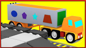 MAGIC SHAPES! - TRUCK Puzzle For Kids! Learn Shapes With Trains ... Car Carrier Truck With Spiderman Cartoon For Kids And Nursery Lightning Mcqueen Cars Truck In Monster Shapes Songs Children The Song Ambulance Music Video Youtube Garbage By Blippi Fire Engine For Videos Wheels On Original Rhymes Baby Finger Family Trucks Surprise Eggs Titu Recycling Twenty Numbers