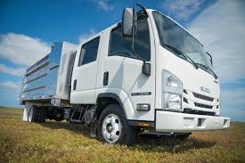 Isuzu NPR Landscape Trucks For Gas | MJ Truck Nation