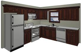 Enthralling Kitchen 10X10 Floor Plans 10 X Layout With Island Of Designs