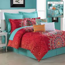 Coral Colored Bedding by Southwest Bedding Touch Of Class