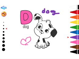 ABC Animals Coloring Book Game On The App Store