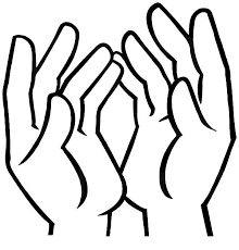Free Of Hands Coloring Pages
