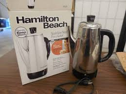 Hamilton Beach 12 Cup Stainless Steel Percolator