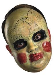Purge Masks Halloween Express by Smeary Doll Face Mask
