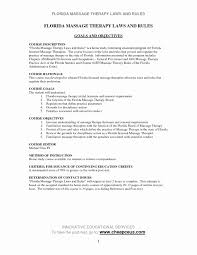 Massage Therapist Resume Inspirationa Sample Objectives For Physical New