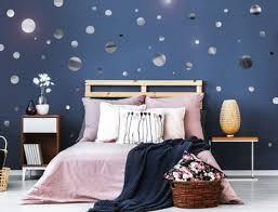 wohnzimmer schlafzimmer kinder deko chrom wandtattoo sterne