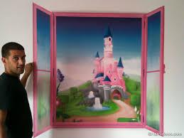 deco chambre princesse disney chambre princesse en trompe l oeil deco