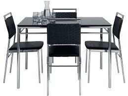 table cuisine chaises table cuisine pliante avec chaises integrees