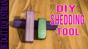 Horse Hair Shedding Tool by Diy Shedding Brush Youtube