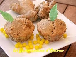 cuisiner avec du gingembre recette de muffins au gingembre confit