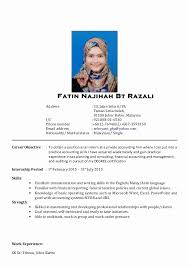 Sample Of Resume For Internship In Malaysia Lovely One Page Format Doc Elegant Good