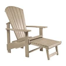 cr plastic products generations upright adirondack chair 31w 44h