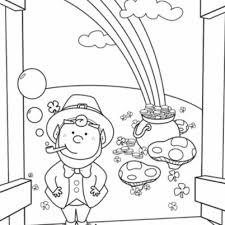 Little Leprechaun St Patricks Coloring Page