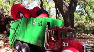 Garbage Truck Videos For Children L Spider-Man Plays With Little ... The Top 15 Coolest Garbage Truck Toys For Sale In 2017 And Which Is Videos Children L Backyard Pick Up Bruder Mack Dump Truck Toy Awesome Bruder Mack Granite Rear Loading Garbage Buy Man Side Loading Orange Online For Toy Unboxing Compilation Nz Trucking Tga Magazine Cement Trucks Toys Prefer Orange Trucks Bruder Load By Fundamentally Backhoe Excavator Crane Granite Rear Red Green 116 Scale