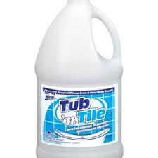 spray nine tub n tile cleaner 1 gal bottle 4 select