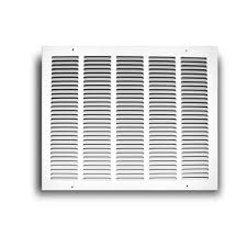 Decorative Return Air Grille 20 X 20 by Truaire 30 In X 10 In White Return Air Grille H170 30x10 The