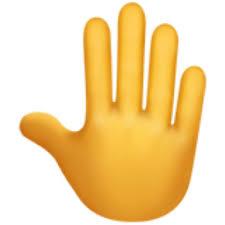 Emoji Information Raised Back Of Hand